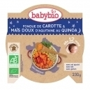 Γεύμα Καρότο/Καλαμπόκι με Κινόα +12μ (230γρ)