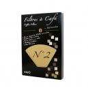 Φίλτρα καφέ (μικρό μέγεθος) βιοδιασπώμενα από φυτικές ίνες (x40)