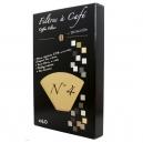 Φίλτρα καφέ (μεγάλο μέγεθος) βιοδιασπώμενα από φυτικές ίνες (x40)