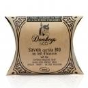 Σαπούνι πλάκα με γάλα γαϊδούρας Αργκάν / Μέλι / Άνθη Πορτοκαλιάς (100γρ)