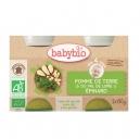 Κρέμα Λαχανικών Πατάτα-Σπανάκι +4μ (2x130γρ)