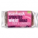Ψωμί φύτρου σιταριού με αμύγδαλα και φρούτα (400γρ)