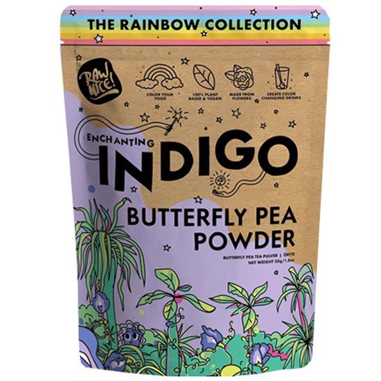 Μωβ Λουλούδι 'Μπιζέλι Πεταλούδα' σε σκόνη (50γρ)