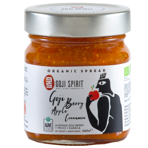 Spread with Goji, Apple & Cinnamon (240gr)