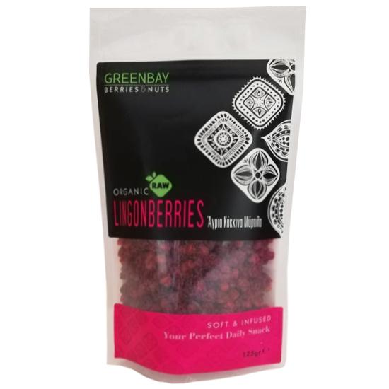 Κόκκινα Μύρτιλα (Lingonberries) Raw αποξηραμένα (125γρ)