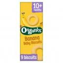 Μπισκότα Μπανάνα +10μ (54γρ)