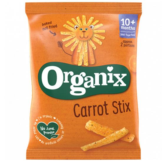 Σνακ Καλαμποκιού με Καρότο +10μ (15γρ)