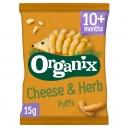 Σνακ Καλαμποκιού με Τυρί & Μυρωδικά +10μ (15γρ)
