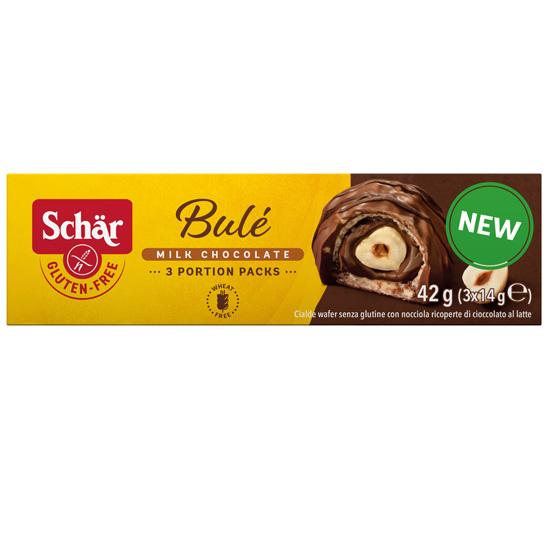 Σοκολατάκια με Γκοφρέτα & Φουντούκι