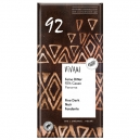 Μαύρη Σοκολάτα 92% με κακάο Παναμά & ζάχαρη καρύδας (80γρ)